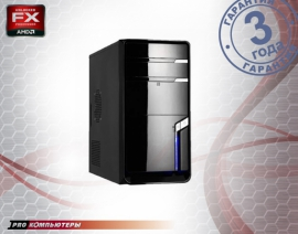 Компьютер AMD A4-4000/ 4Gb DDR3/ 500Gb HDD/ DVD-RW