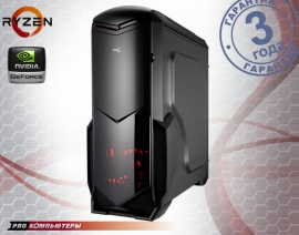 Игровой компьютер AMD Ryzen 5 1500X/ B350/ 16Gb DDR4/ 2Tb HDD/ GeForce GTX 1080/ DVD-RW