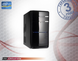 Компьютер Intel Core i3-6100/ 4Gb DDR4/ 500Gb HDD/ DVD-RW