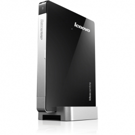 Неттоп Lenovo IdeaCentre Q190 57316620 (Intel Celeron 1017U 1.6 GHz/4096Mb/500Gb/No ODD/Intel HD Graphics/Wi-Fi/DOS)