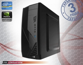 Игровой компьютер Intel Core i3-7100/ 8Gb DDR4/ 1Tb HDD/ GeForce GTX 1050/ DVD-RW