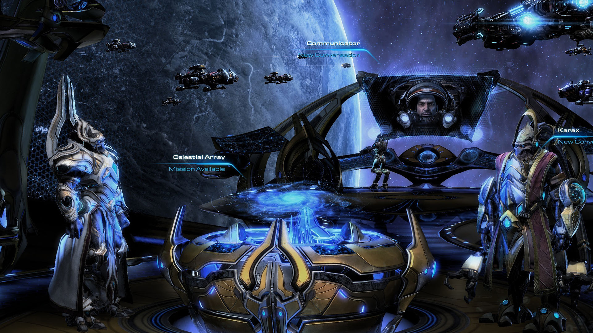 Starcraft 2 legacy of the void графика